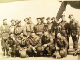 Group photo of Paras from the album of Pte Tommy Kelly