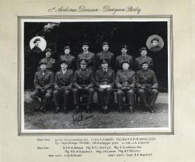 Group Photograph of 1st Airborne Division - Dungeon Party