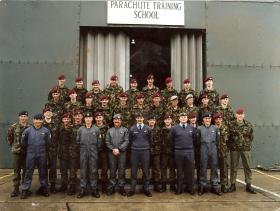 Group photograph of Wings course, Brize Norton