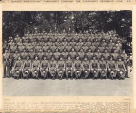 No 1 Guards Ind Para Coy June 1961