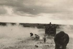 Guards Para Coy Anti Tank Platoon firing a 106mm Anti Tank Gun, 1963