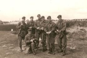 Guards Paras Shooting Team, early 1962