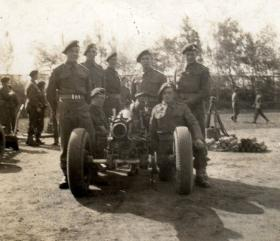 Men of the 211 Airlanding Light Battery, date unknown.