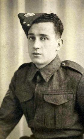 Lance Corporal H Hulett, c1944.