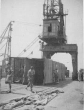 Haifa Docks 1947