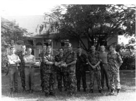 Bn HQ 2 PARA, Airport Camp, Belize, c1987.