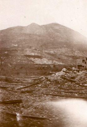Hangman's Hill, Cassino, Italy, April 1944.