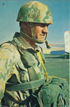 Hannes Botha Commanding Officer South African Parachute Training Centre 1967