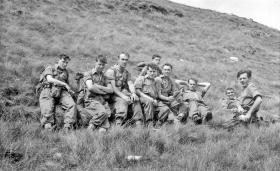 Happy campers from No 1 PTS in Wales c1958