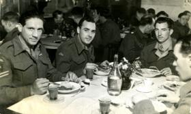 Members of the 6th (Royal Welch) Parachute Battalion, c1945-46.
