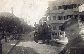 Pte Alfred Harrison, B Coy, 2nd Para Bn at Tel Aviv, Palestine, 1946.