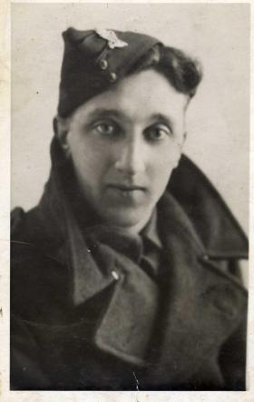 Harry Marshall in the Royal Ulster Rifles circa 1940
