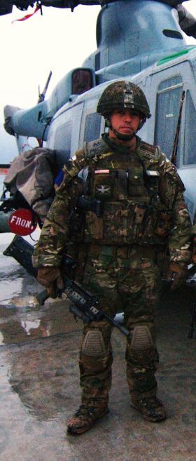 Colour Sergeant Magreehan Op Herrick XIII