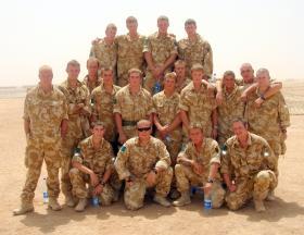 5 Platoon, B Company, 3 PARA, Herrick IV, 2006.