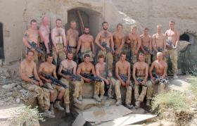 5 Platoon, B Company, 3 PARA, Herrick IV, Sangin, 2006.