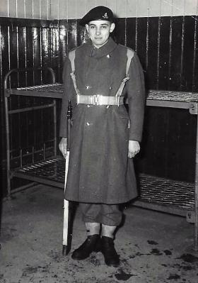 Pte Robert Heyden, date unknown.