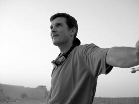 Sgt 'Bob' McLeod, 2 PARA, FOB Gibraltar waiting for another resupply, Afghanistan, Herrick VIII, 2008.