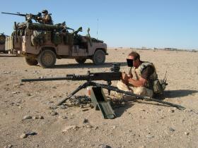 Heavy Machine Guns, Afghanistan, Op Herrick IV, 2006.