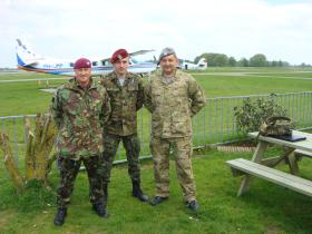 Polish Airborne and British Para, Teuge Netherlands 2008.