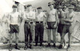 Members of 2 PARA, Hong Kong, 1968.