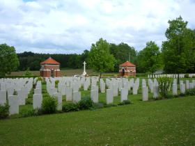 Hotton War Cemetery,  Luxembourg.