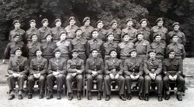 Headquarters Royal Army Service Corps, 1st Airborne Division, Fulbeck Hall, Lincolnshire, July 1944.