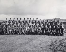 Group Photograph of HQ 44th Parachute Brigade