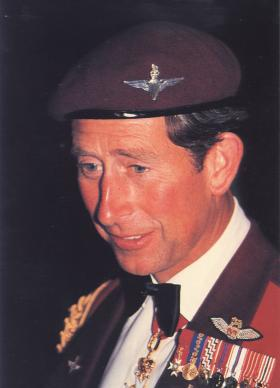 HRH The Prince of Wales in mess dress c1990s