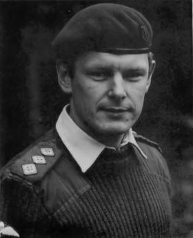 Captain Steve Hughes 2 PARA RMO c1982