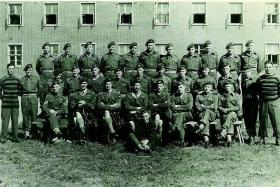 Members of 5th Scottish Parachute Battalion Husum Germany 1948