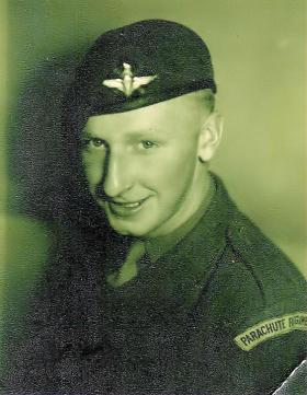L/Cpl Alex Gray Husum Germany 1948