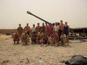 I (Bull's Troop) Parachute Battery, 7 PARA RHA, Afghanistan 2008.