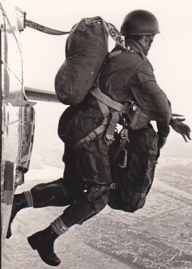 Iain S Bowen, X-type with C.S.P.E.P. over New Sarum airbase, Salisbury Rhodesia 11 Feb 1971