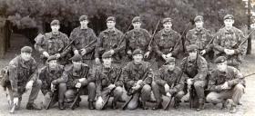 3 Platoon, A Company, 1 PARA, March & Shoot winners, Hythe & Lydd ranges, 1978.