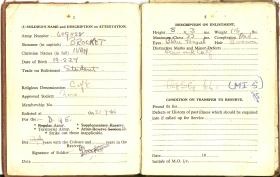 Extracts from Cpl Brocket's Service Book