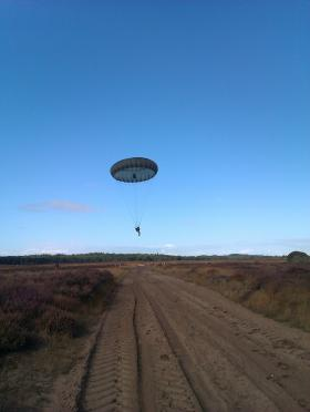 WO2 J West, 4 PARA, Ginkel Heath, 22 September 2012.