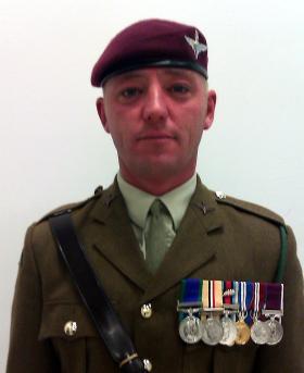 RSM Steve Tidmarsh, 3 PARA, 20 October 2012