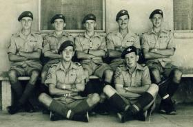 Members of 9th (Essex) Parachute Battalion, Palestine, date unknown.
