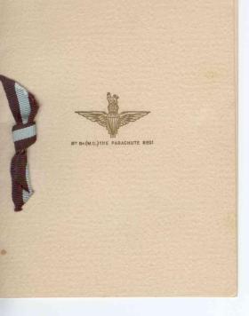 8th Battalion, The Parachute  Regiment, Christmas Card