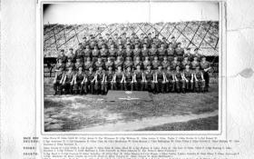 Group photograph of Guards Independent Para Coy, Singapore 1962