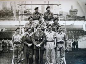 Southern Command Obstacle Course Team Royal Tournament, 1948