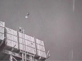 Egbert, 1 Para's parachuting monkey in Bahrain 1964