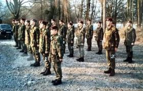 Beret Parade 571 Platoon, Brecon 1992