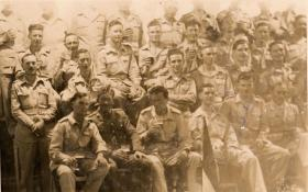 Members of 8th Parachute Battalion Palestine, c1946-47