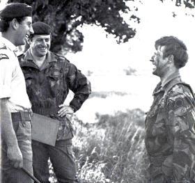 HRH Prince of Wales visits 2 PARA, May 1979.