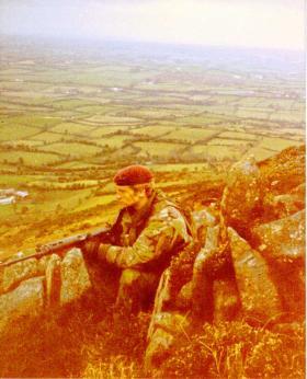 Corporal David Hardman, 1980