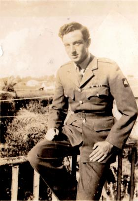Lt Richard Fry MC, undated.