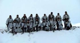 Patrol Company, 2 PARA, Falklands 2009.