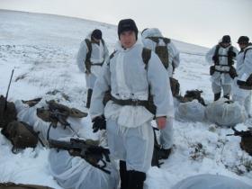 Private Dan Bradley, 2 PARA, Falkland Islands, 2009.