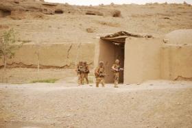 2 Para Patrols, Afghanistan 2008.